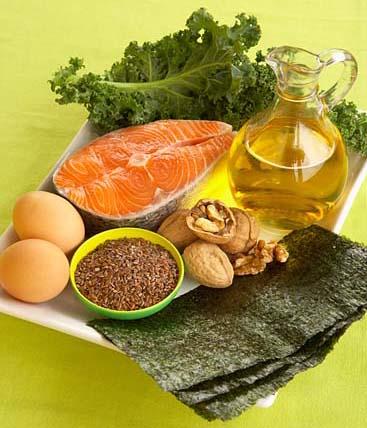 alimente cu omega 3 si 6